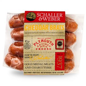Plymouth Cheddar Brats