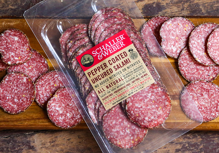 Retail Sliced Salami Packs